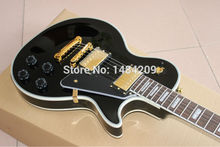 Best Price - New Style 50th Anniversary 1960 LP Black Custom electric guitar