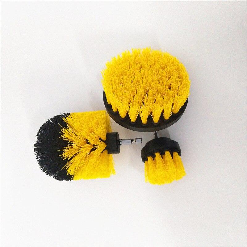 3 pçs power purificador escova de broca limpa para superfícies do banheiro banheira chuveiro telha grout sem fio energia esfrega carro mais baixo preço
