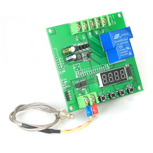 0~1000 degree Mini LED Temperature Controller Module Temp Control Switch Board with K-type Sensor Probe