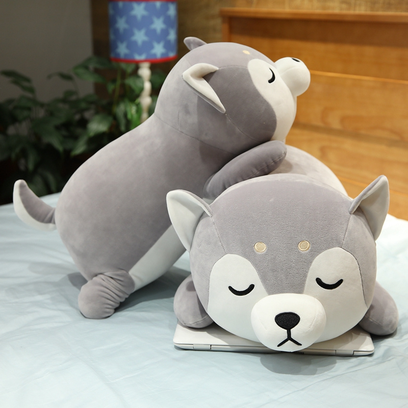 Permalink to 35-75cm Cute Husky Plush Toy Soft Stuffed Kawaii Shiba Inu Pillow Peluche Dolls for Kids Children Popular Toy Birthday Gift