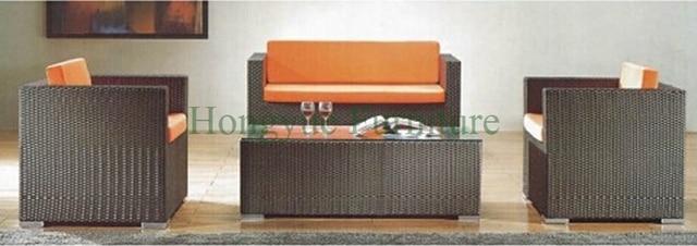 Home rattan sofa set furniture,wicker sofa set for living room