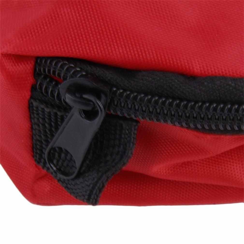 0.7L First Aid Kit Home Storage Bag Red Outdoors Camping Plastic Emergency Survival Empty Bandage Drug Waterproof Storage Bag