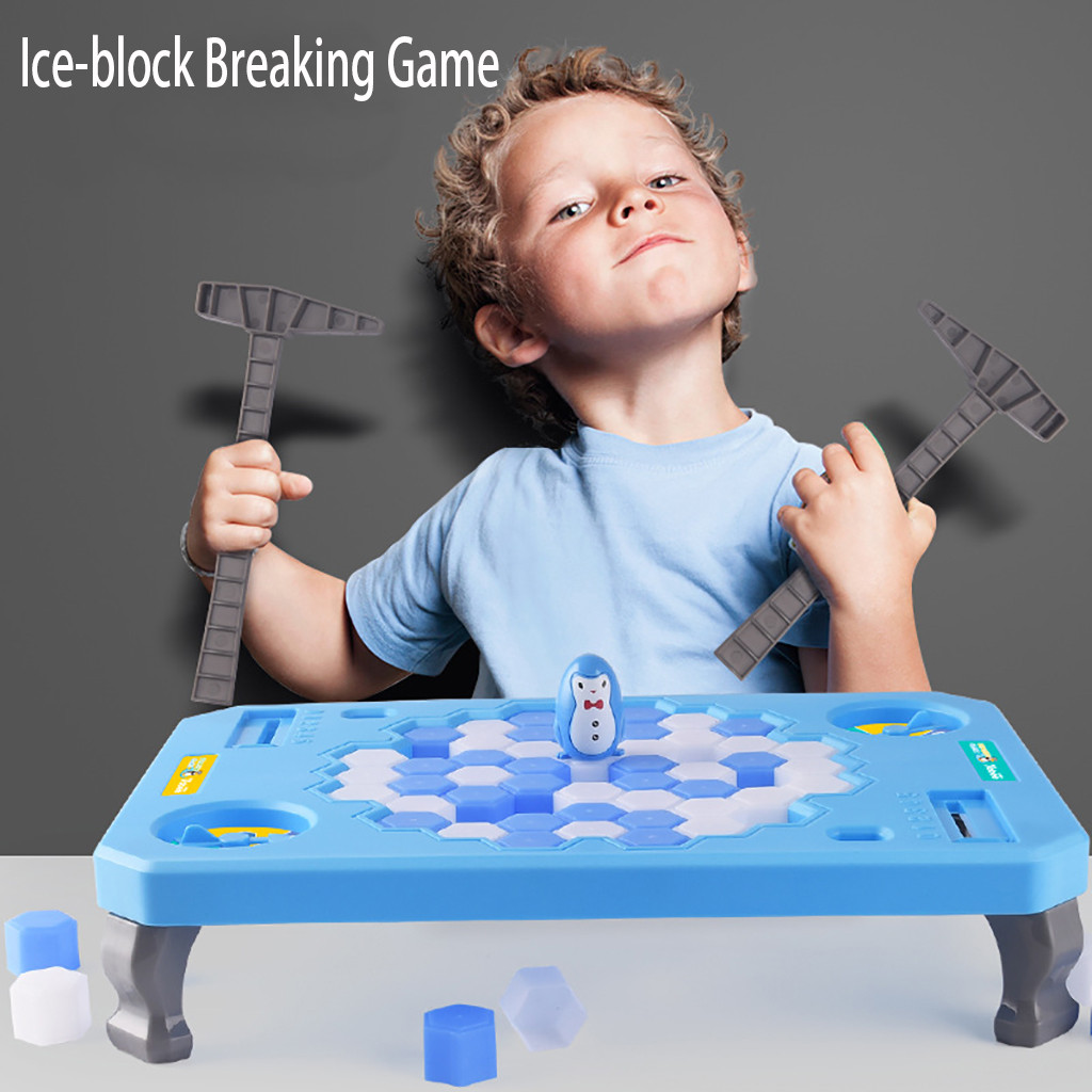 Ice-Breaking Game Penguin Table Game Building Puzzle Kids Baby GiftIce-Breaking Game Penguin Table Game Building Puzzle Kids Baby Gift