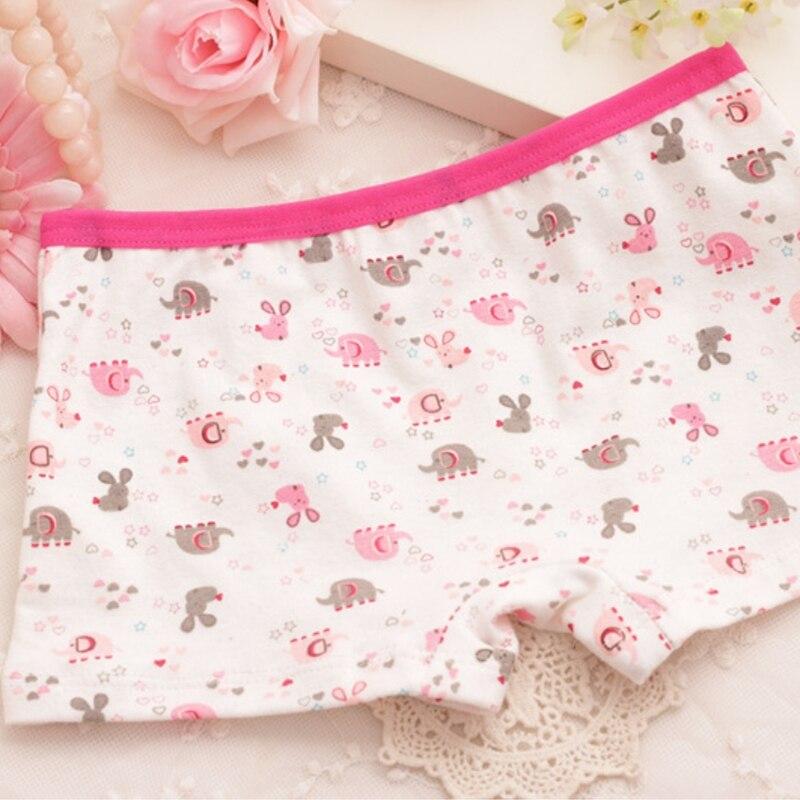 Cotton Panties Girls Underwear Kids Baby Briefs Kids Panties Underpants Shorts Cartoon 1PCS
