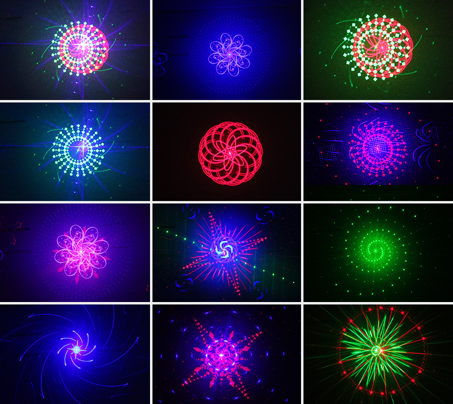 ALIEN RGB 32 Patterns Christmas Laser Projector Outdoor Light Remote Garden Waterproof IP65 Holiday Xmas Outside Shower Lighting 4