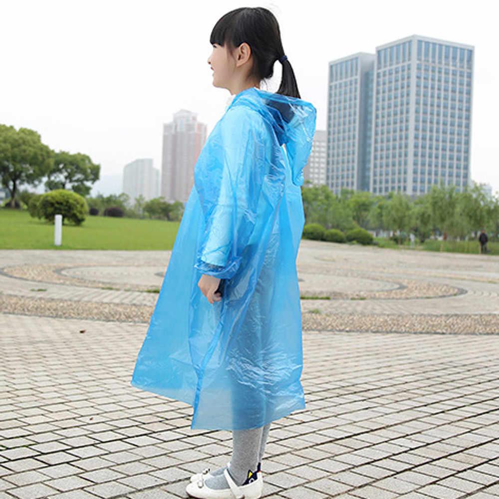 Traje de niños una vez usar impermeable para niños nuevo bebé impermeable ropa de lluvia para niños
