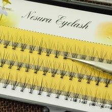 Узлов индивидуальный доступны природных накладные ресниц расширение ресницы длинными макияж инструмент