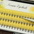 New Natural Preto Longo Extensão Individual Pestanas Falsas Eye Lash Maquiagem Ferramenta 60 Nós 6 8 10 12 14 MM disponível