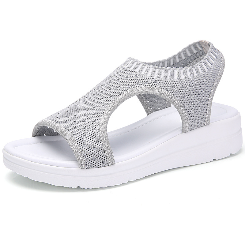 HTB1rqguxWmWBuNjy1Xaq6xCbXXaJ MLANXEUE Fashion Women Sandals For 2019 Breathable Comfort Shopping Ladies Walking Shoes Summer Platform Black Sandal Shoes
