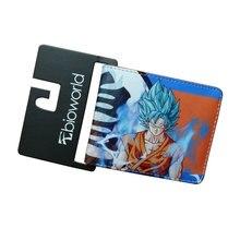 Dragon Ball Z Wallets Men Women Creative Gift Purse Standard Short Wallet Leather Money Organizer Bags Cartoon Anime Wallet