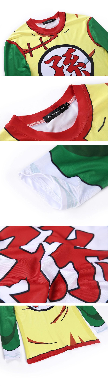 Dragon Ball Characters Costumes 3D Sweatshirts