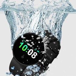 YEINDBOO Смарт-часы Шагомер монитор сердечного ритма Поддержка Водонепроницаемый Smartwatch для IOS Android Bluetooth Smart часы