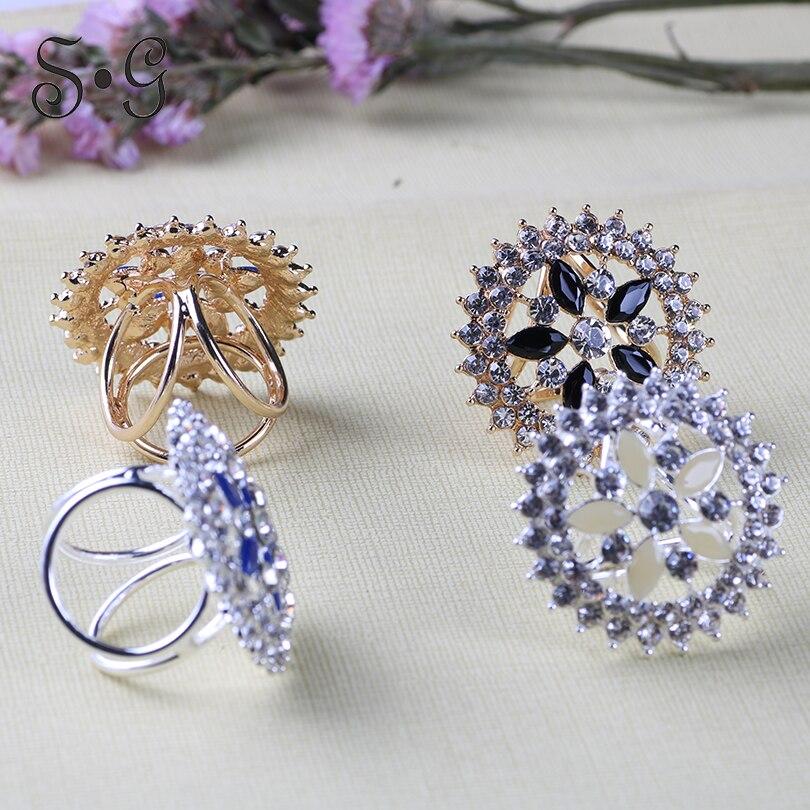 Antique Silver Clear Rhinestone /& Crystal Dangle Bridal Earrings #2682
