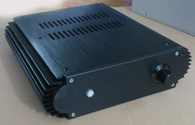 BZ2208 Aluminum enclosure Preamp chassis Power amplifier case/box size 284*80*308mm
