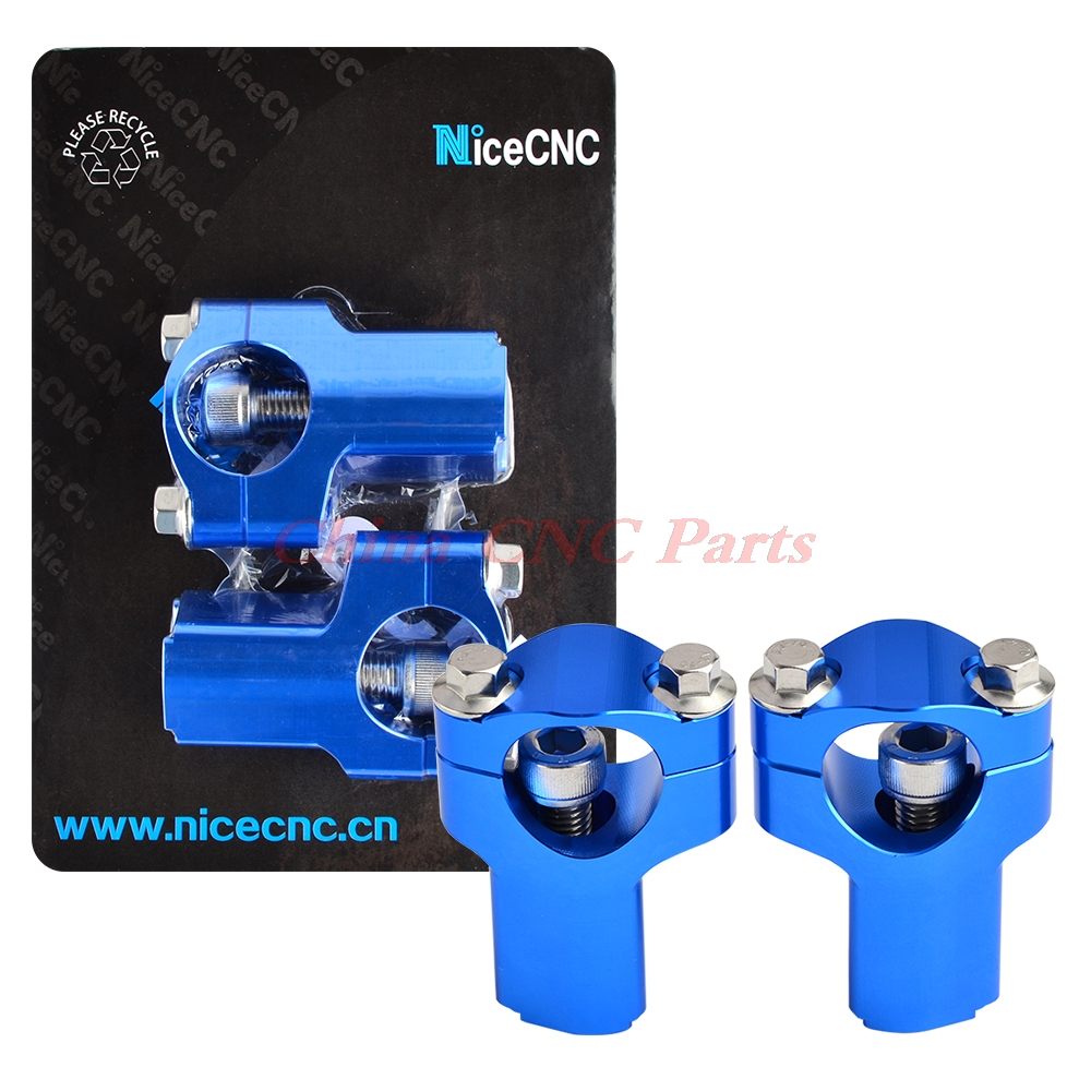 NICECNC Guidon Raiser 52mm Hauteur Monte Pour Husaberg FE/FS/FX/TE Husqvarna TC TE FC FE 85/125/250/300/350/450/501 2014-2017