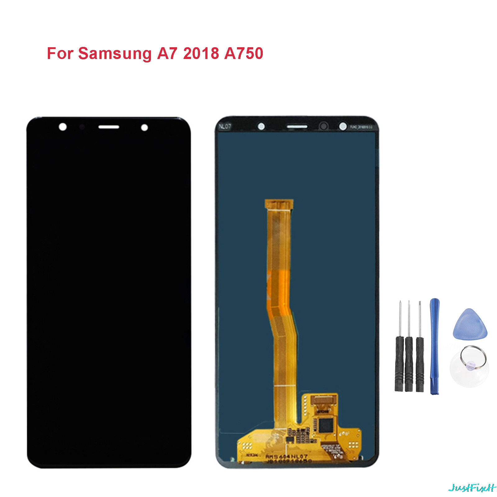 Replace Super amoled 6 0 For Samsung Galaxy A7 2018 SM A750F A750F A750 LCD Display