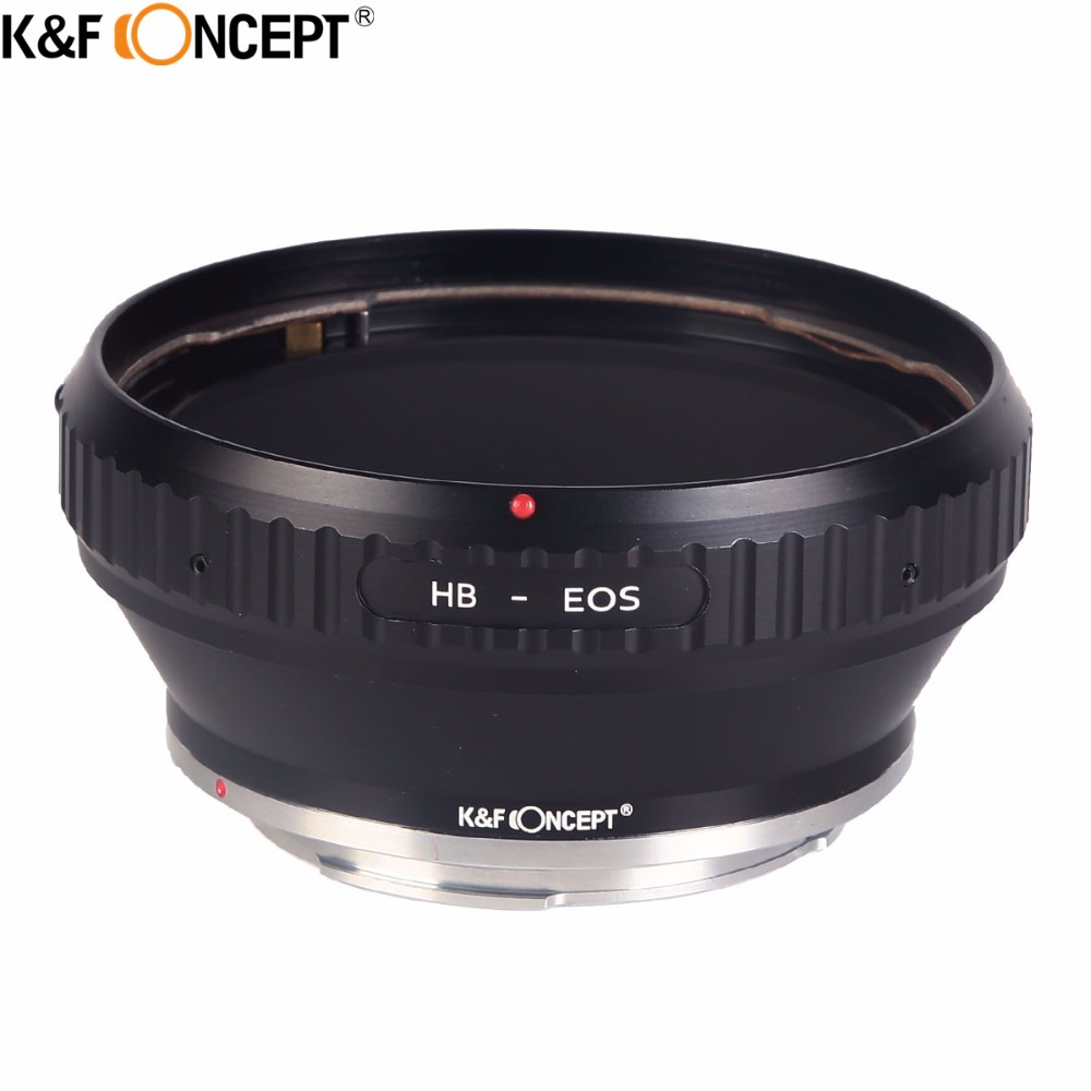 K F CONCEPT for HB EOS Camera Lens Mount Adapter Ring fit for Hasselblad Lens to