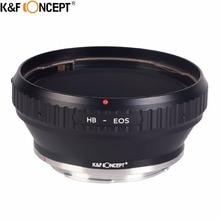 K & F концепция для HB-EOS Объектив для камеры Крепление переходное кольцо подходит для Hasselblad объектив для Canon EOS EF крепление Объектив Камера Для тела