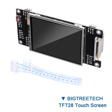 BIGTREETECH TFT28 контроллер сенсорного экрана RepRap lcd 2,8 дюймов дисплей для SKR V1.3 мини принтер маг VS MKS TFT35 панель wifi
