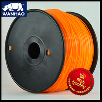 PLA filament orange color 1.75mm for 3d printing high quality with low price|print 3d|filament 1.75mmfilament pla -