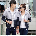 Top 2016 New Men Fashion Letter Print Tracksuits College Couple Jacket Set Camisa Summer causal  Suit  multi colors