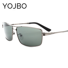 YOJBO New Arrival Top Fashion Alloy Aviator/pilot 2017 Sunglasses Men Polarized Luxury Brand Driver Glasses Designer Eyewear