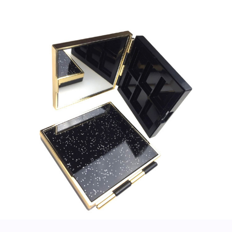 Eyes Makeup Starry Sky Empty Refill Palette Eyeshadow Cosmetic Containers Magnet