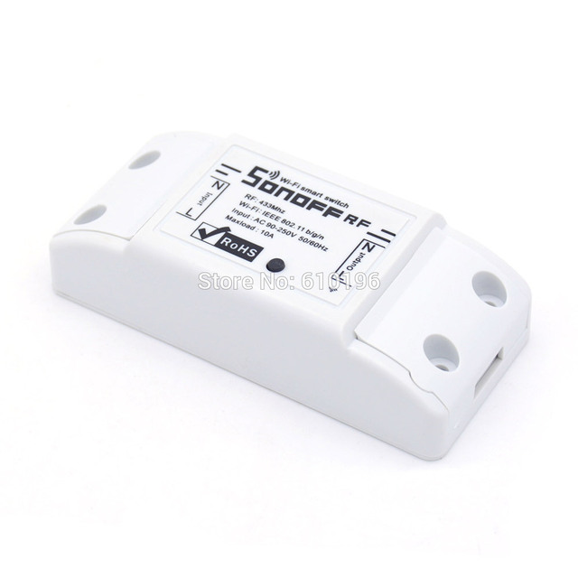 SONOFF 433 М 433 МГц РФ Wi-Fi Беспроводной Smart Switch Для Умного Дома