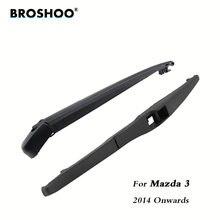 Задние щетки стеклоочистителя broshoo для mazda 3 hatchback