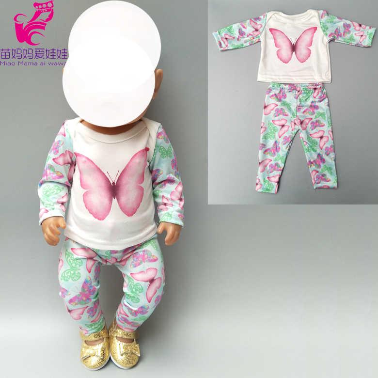 """Одежда для куклы 40 см Кукла Одежда для мальчиков комплект со штанами динозавра для 18 """"Кукла Мальчик весенний наряд"""
