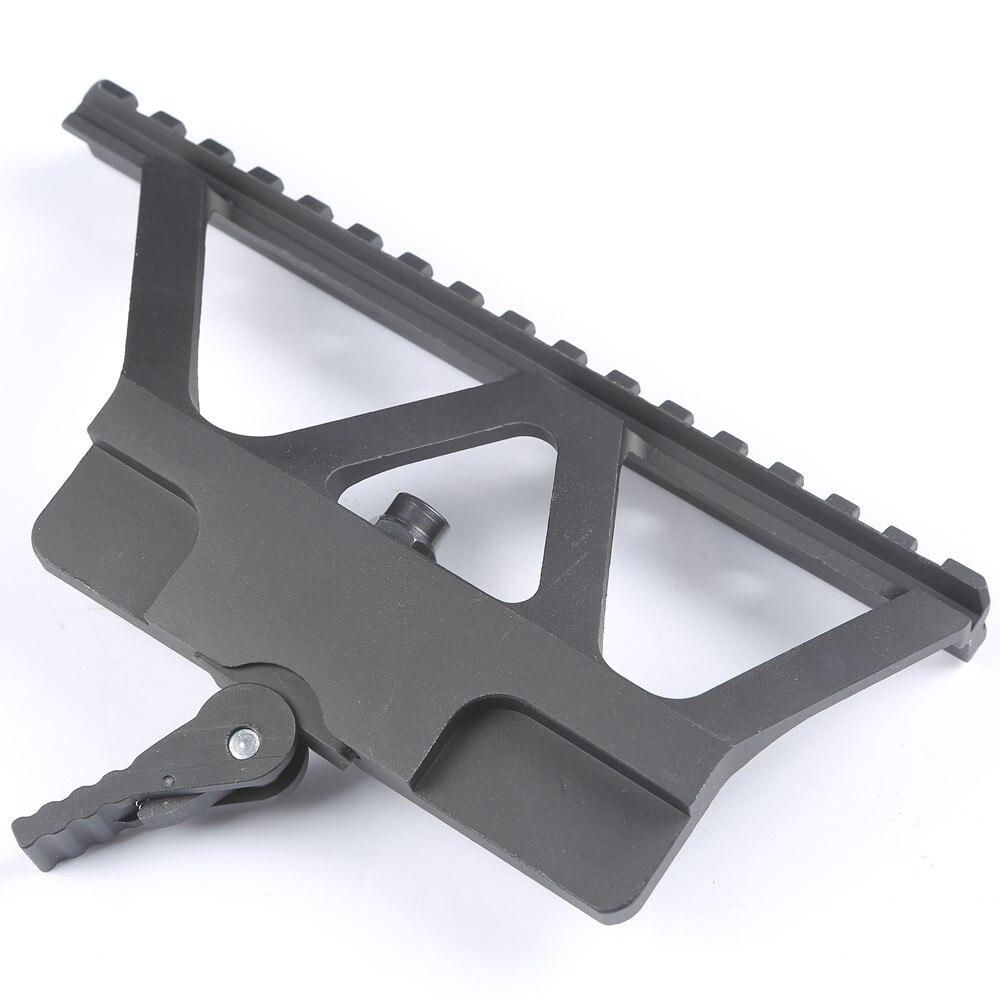 АК горе Железнодорожных QD Быстрый Снимите Пистолет Сфера Горе Базы Picatinny Боковой Направляющей 20 мм Крепление Для АК 47 АК 74 охота