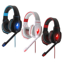 EACH G4000 casque gaming headset 3.5mm Plug earphone game headphones with Microphone LED light for computer PC Gamer
