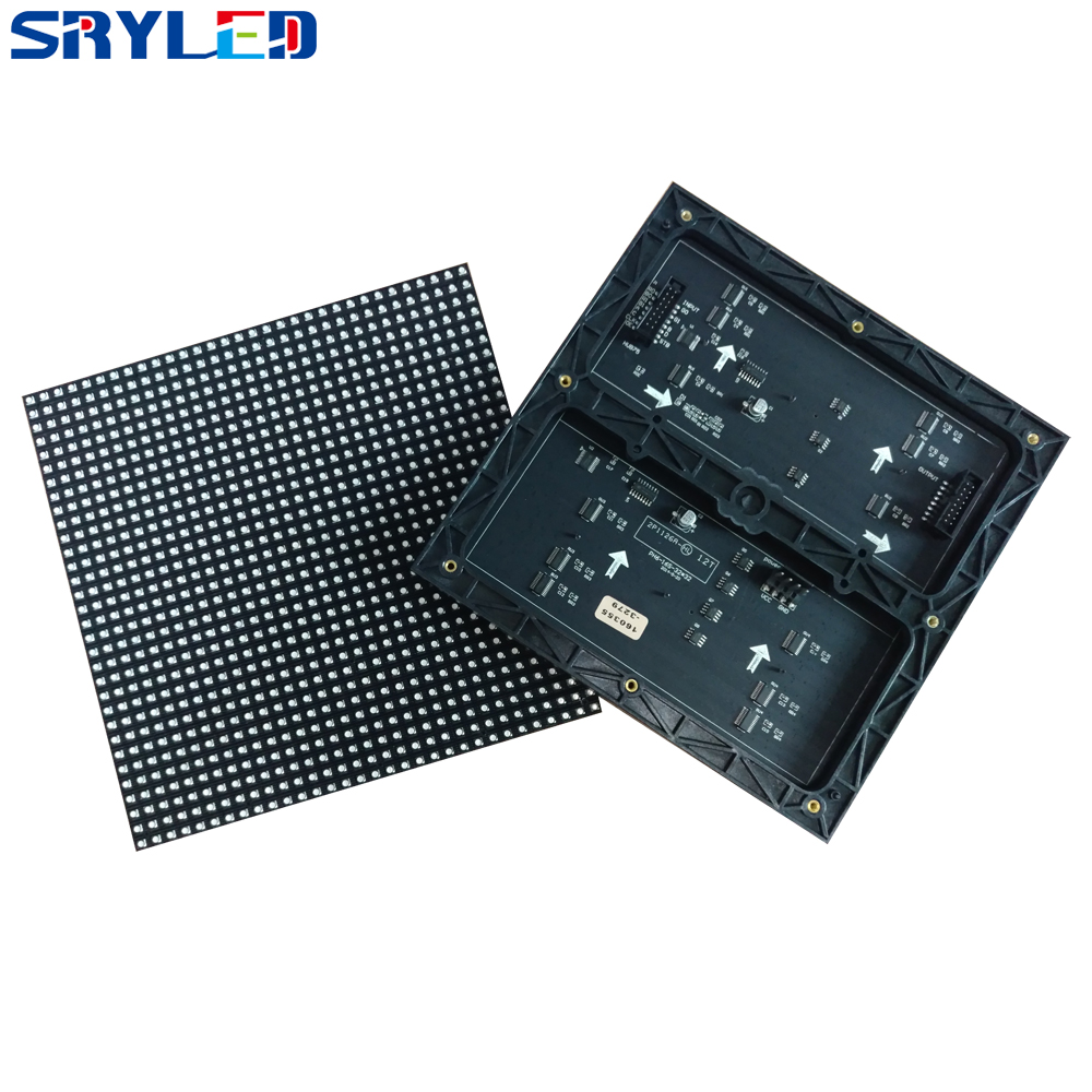 High Refresh Rate Indoor P6 RGB SMD3528 Full Color 32x32 Pixels LED Module 192x192mm For P6 Die-casting Aluminum Cabinet