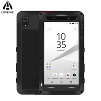 Brand Metal Case For Sony Xperia Z5 5 2 Inch Shockproof Cover For Sony Xperia Z5