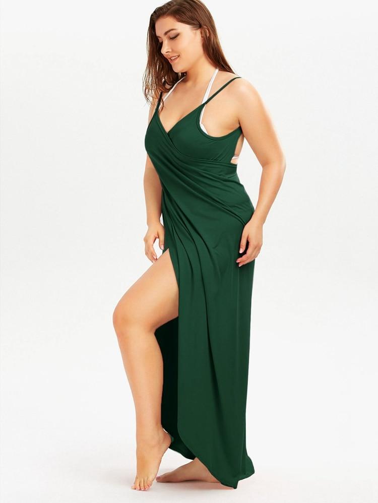 Plus Size Pareo Beach Cover Up Wrap Dress Bikini Swimsuit Bathing Suit Cover Ups Robe De Plage Beach Wear Tunic kaftan Swimwear 49
