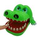 Brinquedos Tubarão Bulldog Crocodilo Dentista mordida Jogo Dedo Divertimento Engraçado Novetly Dentes de Crocodilo Croco Brinquedo Para Crianças