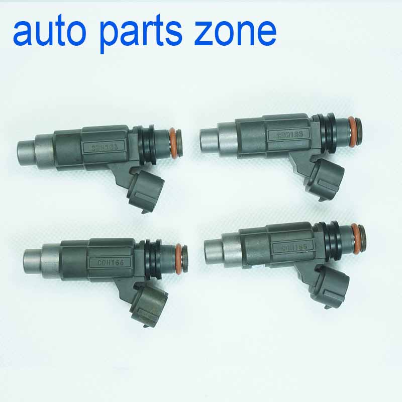 MH Electronic LOT 4pcs Set Fuel Injector CDH166 For Chevrolet Tracker Mitsubishi Mirage Suzuki Vitara 1999