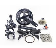 SHIMANO R8000 список групп ULTEGRA R8000 переключатели дорожный велосипед 50-34 52-36 53-39 т 165 170 172,5 175 мм 11-25 11-28 11-32 Т 5800