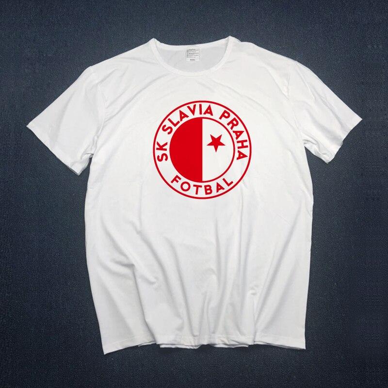 Men Slavia Praha T Shirts Milan Skoda Muris Mesanovic Printing Short Sleeve Anciana Fans Club Tshirt Tops Tees S-xxxl