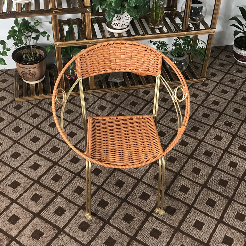 All Weather Garden Chair Samsonite Chairs Uk Leewince Furniture Rattan Indoor Outdoor Restaurant Stack Small Armchair Patio In From On