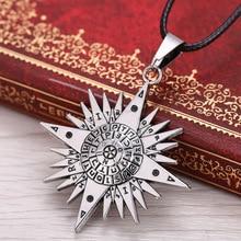 Black Butler Anime Pentacle Pentagram Pendant Lucifer Satan Logo Unisex Necklace