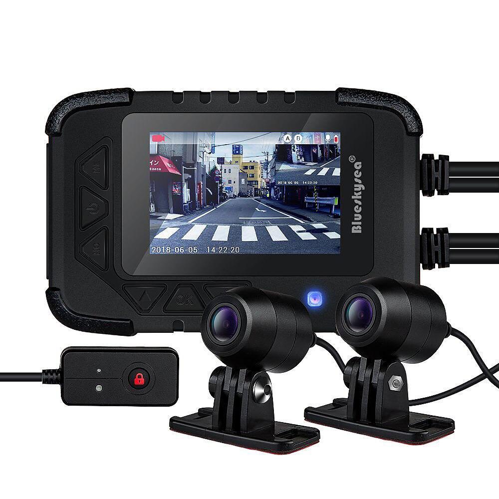 Blueskysea DV688 Moto Caméra 1080 P DVR pour Moto Camara Par Moto Étanche Motocicleta Motosiklet Kamera Moto