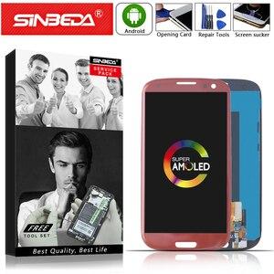 ЖК-дисплей AMOLED 4,8 дюйма для SAMSUNG Galaxy S3, сенсорный экран с рамкой, дигитайзер для SAMSUNG S3, ЖК-дисплей ekran S3, i9300, i9305, i747