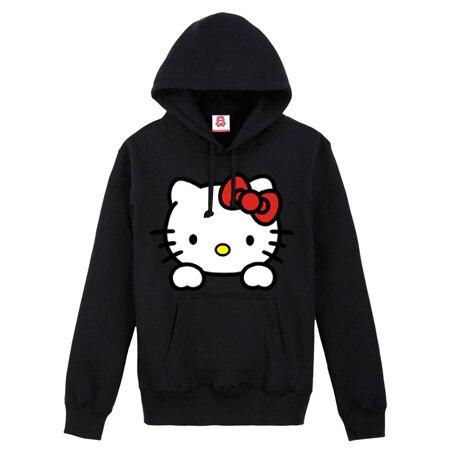 7036a1b70 freeshipping / hot selling Cute hello kitty autumn-summer Hoodies the sports  suit sweatshirts women's coats