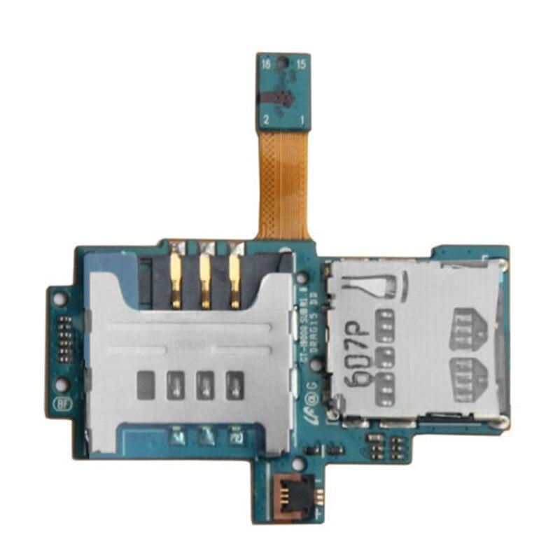 Original SIM Card Socket Flex Cable For Galaxy S / i9000