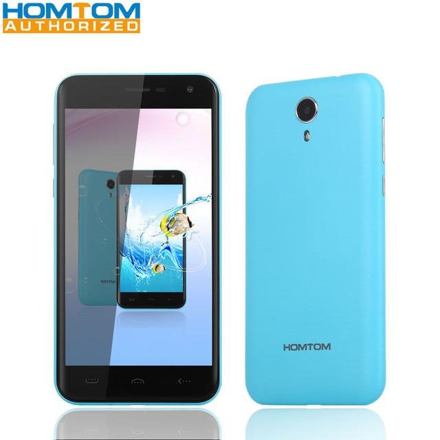 Homtom HT3 / HT3 Pro 5.0inch Smartphone Quad Core MTK6580 1GB 8GB / MTK6735 2GB 16GB 2MP 5MP 8MP Cameras 3000mAh Mobile Phone