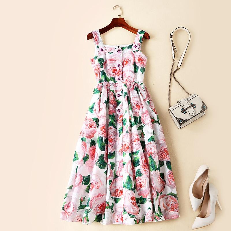 Amerikanischen Lange Temperament Taille S Berühmte Hohe Sommer Kleid Und Europäischen In Neue Stil Frauen Frühling Von 2019 yfYb76g