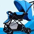 Carritos de bebé de Dos vías de alta paisaje luz puede sentarse cuatro carros pequeños portátil plegable barbacoa de verano el envío libre