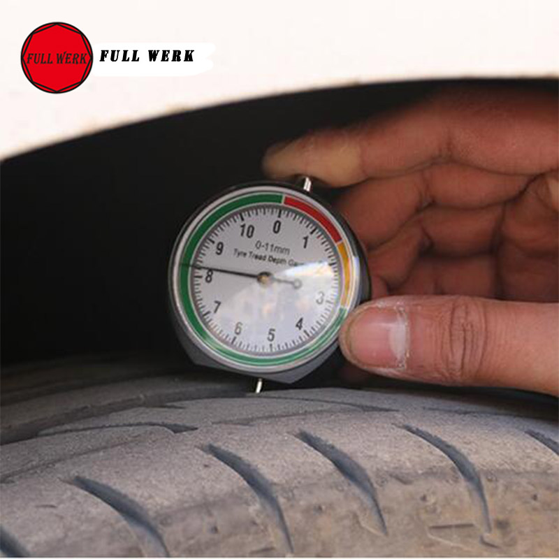 Car Wheel Tire Pressure Tread Depth Gauge Meter Indicator Pointer Measure Device Tool Tire Condition Monitor Display Accessories starpad for xinyuan x2 x2x tire wheel motorcycle accessories folder folder 21 x2 rear tire tread clip 18