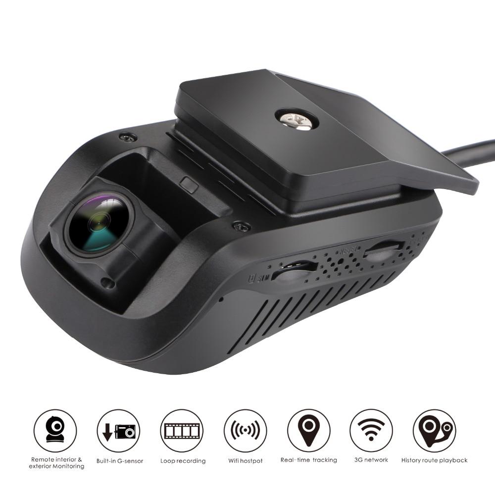 3G GPS Tracker Car Smart Dash Camera Car DVR JC200 EdgeCam